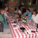Hilde V weekend wijnproeverij