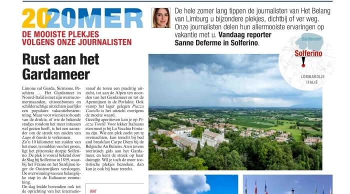 Het Belang van Limburg: Rust aan het Gardameer