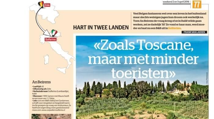 Het Laatste Nieuws: Zoals in Toscane maar met minder toeristen