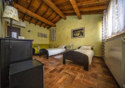 Room with single beds Alba Chiara