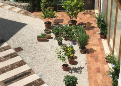 View green room Alba Chiara