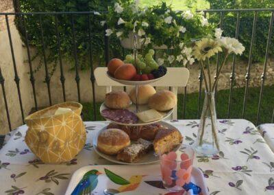Colazione mini buffet in terrazza